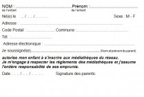 inscription media enfant